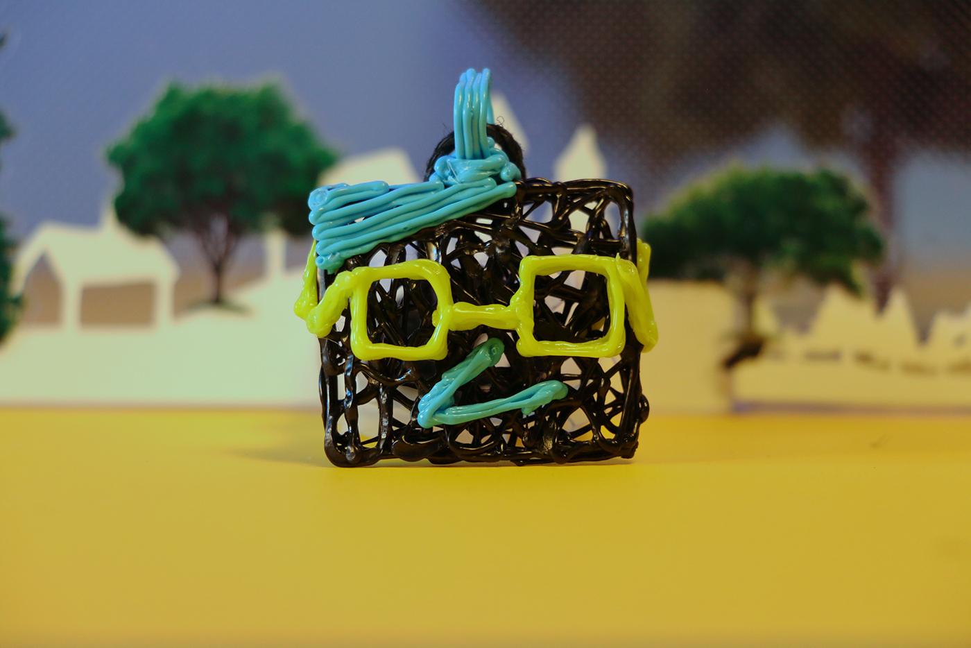 Coaltoons Necklace